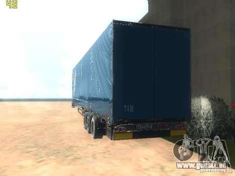 Nefaz-93341 remorque-10-07 pour GTA San Andreas sur la vue arrière gauche
