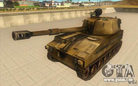 M-109 SELF-PROPELLED GUNS für GTA San Andreas