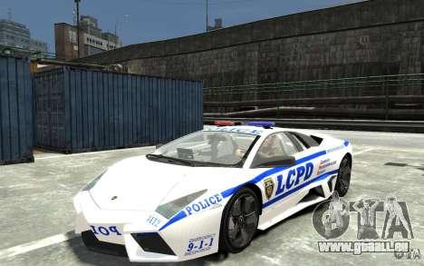 Lamborghini Reventon LCPD pour GTA 4