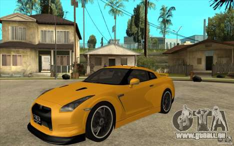 Nissan GT-R R35 für GTA San Andreas