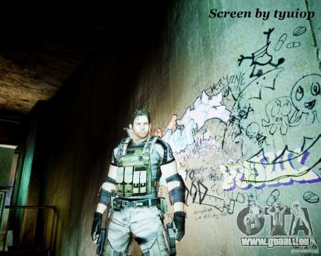 Chris from Resident Evil 5 pour GTA 4