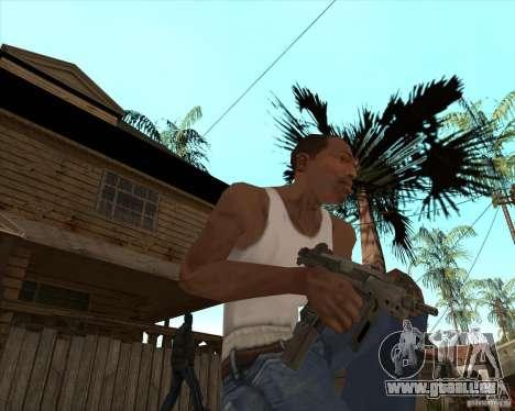 CoD:MW2 weapon pack pour GTA San Andreas troisième écran