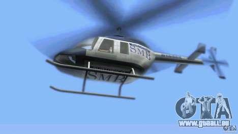 SubtopiCo SMB Maverick für GTA Vice City Rückansicht