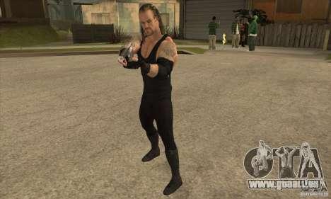 L'undertaker à Smackdown 2 pour GTA San Andreas deuxième écran
