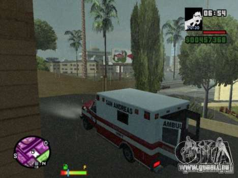 Auto-Repair pour GTA San Andreas troisième écran