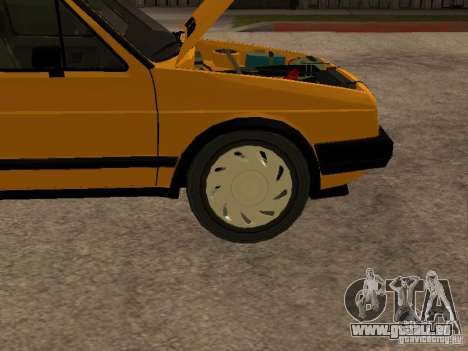 Volkswagen Jetta für GTA San Andreas Innenansicht