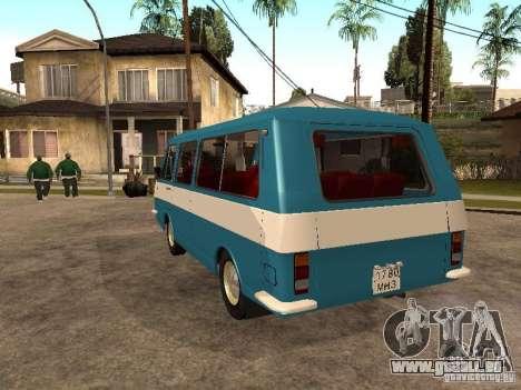 RAPH 2912 pour GTA San Andreas sur la vue arrière gauche