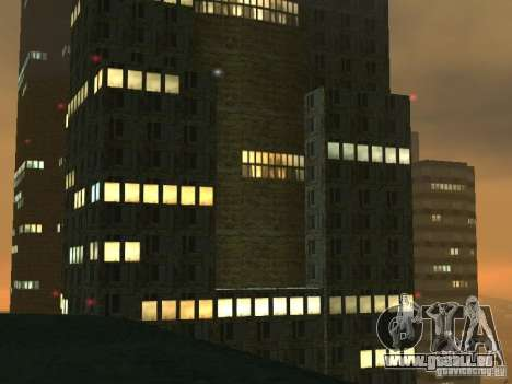 Nouveaux gratte-ciels de textures LS pour GTA San Andreas quatrième écran