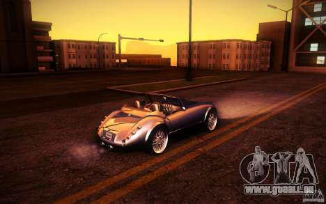 Wiesmann MF3 Roadster pour GTA San Andreas vue de dessus
