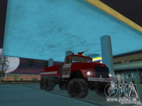 ZIL 131 AC-20 für GTA San Andreas Rückansicht