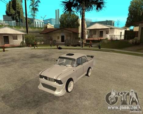 AZLK 412 à l'écoute pour GTA San Andreas