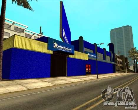 Garage Michelin pour GTA San Andreas deuxième écran