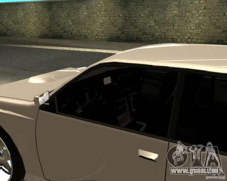 Azik Sultan pour GTA San Andreas sur la vue arrière gauche