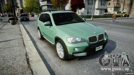BMW X5 Experience Version 2009 Wheels 223M pour GTA 4 est une vue de l'intérieur
