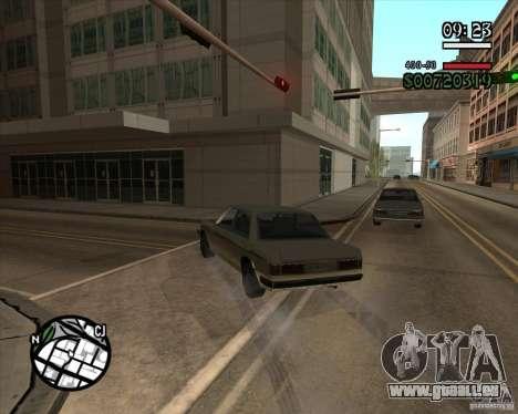 Nouvelle gestion pragmatique pour GTA San Andreas cinquième écran