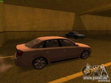 Audi S4 OEM pour GTA San Andreas laissé vue