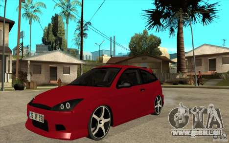 Ford Focus Coupe Tuning pour GTA San Andreas