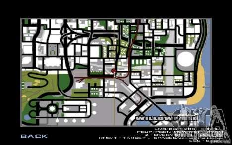 Nouvelle boutique Dixie pour GTA San Andreas septième écran