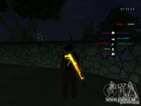 Nouveaux skins La Coza Nostry pour GTA: SA pour GTA San Andreas sixième écran