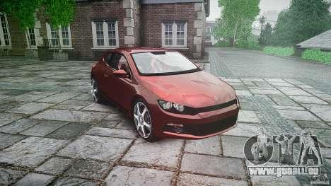 Volkswagen Scirocco 2.0 TSI für GTA 4 Rückansicht