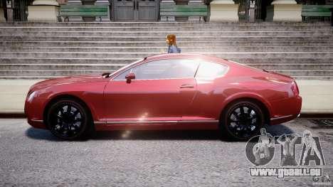 Bentley Continental GT 2004 pour GTA 4 est une gauche