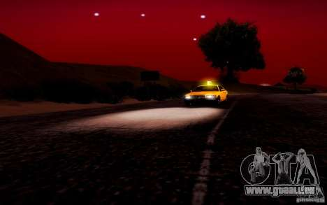 Ford Crown Victoria TAXI 2003 für GTA San Andreas Seitenansicht