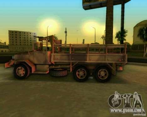 M352A pour GTA Vice City vue arrière