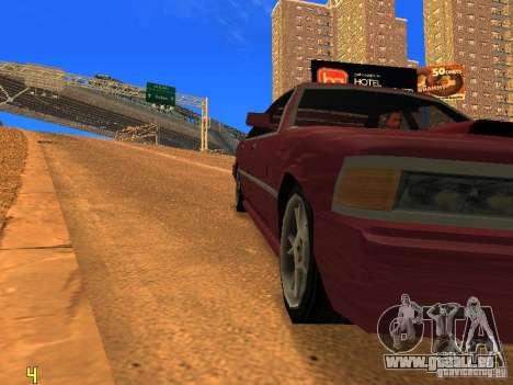 Sentrel Mini Tuning pour GTA San Andreas vue de droite