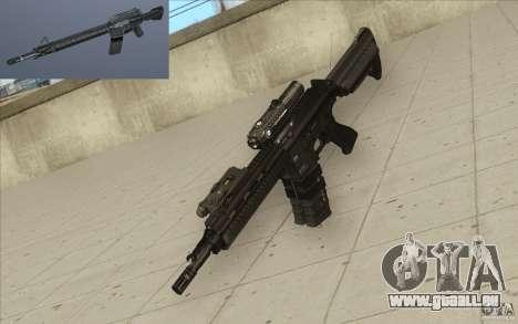 Carabine HK416 pour GTA San Andreas