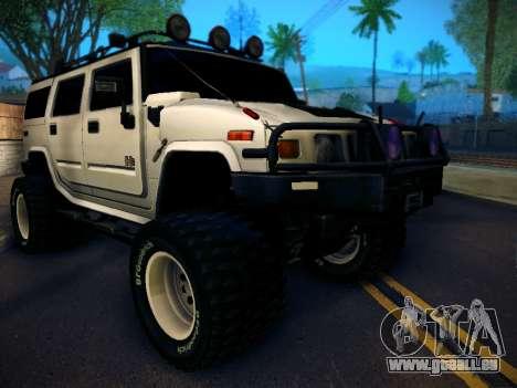 Hummer H2 Monster 4x4 für GTA San Andreas