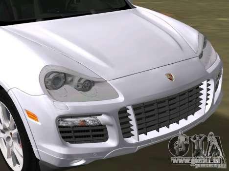 Porsche Cayenne Turbo S pour une vue GTA Vice City de la droite