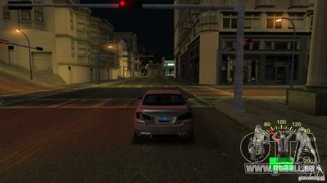 Tacho Lada 2110 für GTA San Andreas zweiten Screenshot