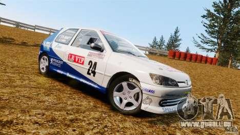 Peugeot 306 Gr. N Rally pour GTA 4 est une gauche