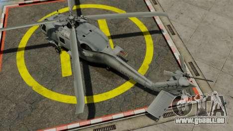 Der Hubschrauber der Sikorsky SH-60 Seahawk für GTA 4 rechte Ansicht