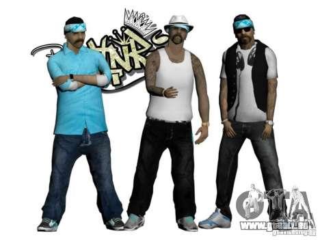 Skinpack Rifa Gang pour GTA San Andreas