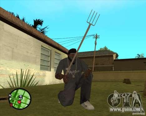Mistgabel für GTA San Andreas