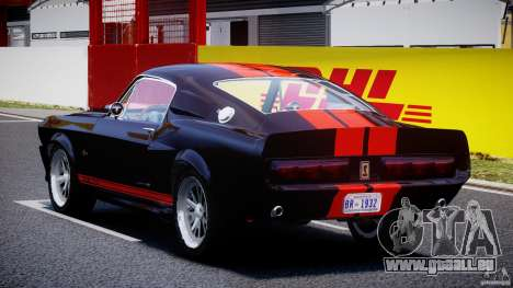 Ford Shelby GT500 1967 für GTA 4 hinten links Ansicht