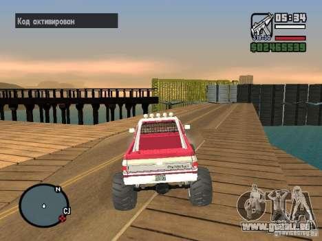 Monster tracks v1.0 pour GTA San Andreas cinquième écran