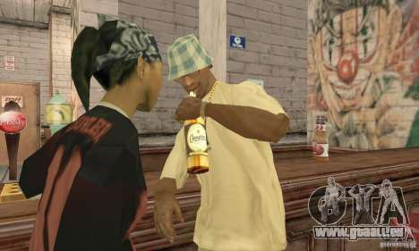 Bière SLAVUTYCH pour GTA San Andreas