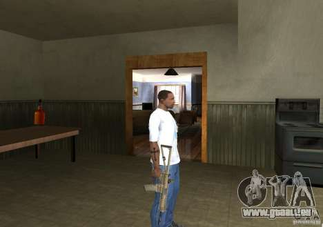 KAC PDW für GTA San Andreas her Screenshot