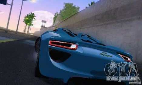 ENBSeries by dyu6 v6.0 pour GTA San Andreas quatrième écran