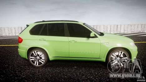 BMW X5 M-Power pour GTA 4 est une vue de l'intérieur