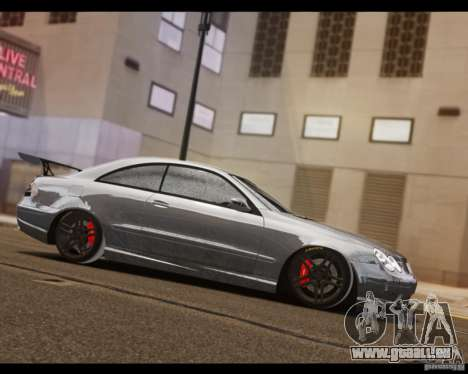 Mercedes-Benz CLK 63 AMG Black Series pour GTA 4