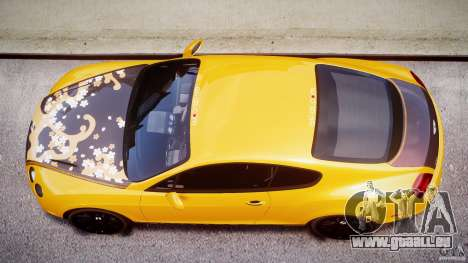 Bentley Continental SS 2010 ASI Gold [EPM] pour GTA 4 est une vue de dessous