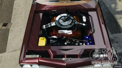 Dodge Monaco 1974 v1.0 pour GTA 4 vue de dessus
