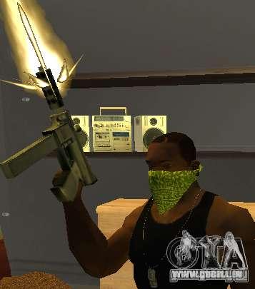 New Bandanas Style pour GTA San Andreas quatrième écran