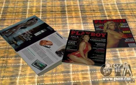 Playboy Magazines pour GTA San Andreas