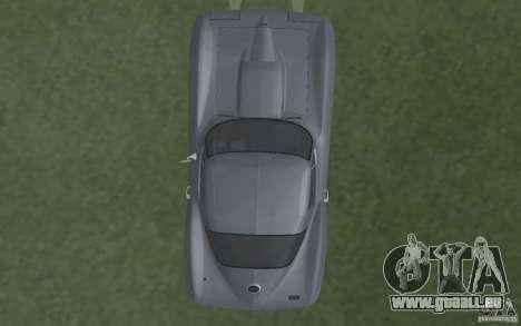 Chevrolet Corvette 427 pour GTA San Andreas vue intérieure
