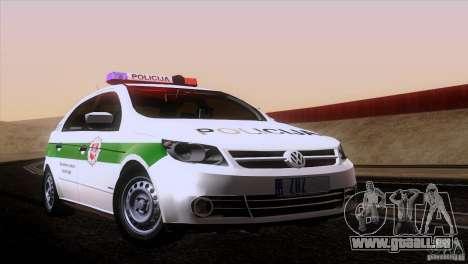 Volkswagen Voyage Policija pour GTA San Andreas