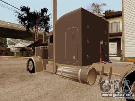 Peterbilt 379 Custom pour GTA San Andreas vue de droite